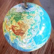 我が家の地球儀