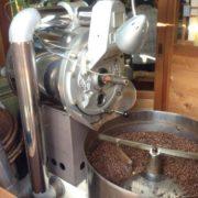 自慢の珈琲焙煎機